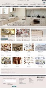 Christophe Living E-Commerce site