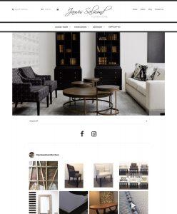 James Salmond Furniture E-Commerce site